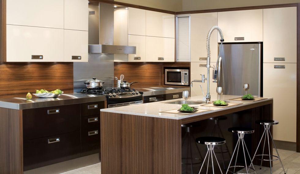 Osaka collection contemporaine cuisines gonthier cuisines et salles de bains maison - Gonthier cuisine et salle de bain ...