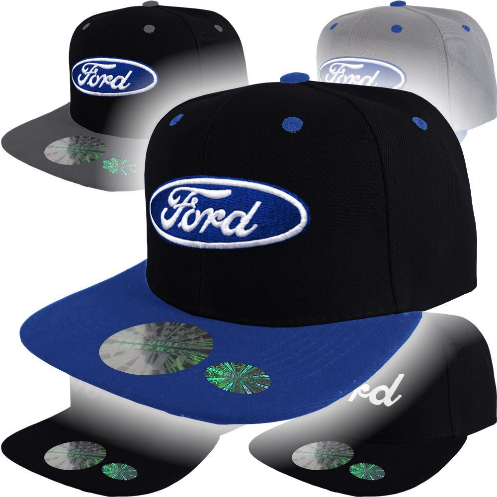 Ford Logo Cap Snap Back Hat F150 Truck Raptor GT500 Racing SHELBY MUSTANG ovale