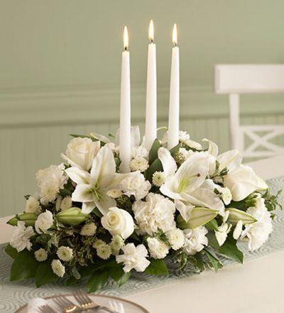 Arreglo floral para boda elegante y con sus velas un toque de arreglo floral para boda elegante y con sus velas un toque de distincion entre varios altavistaventures Image collections