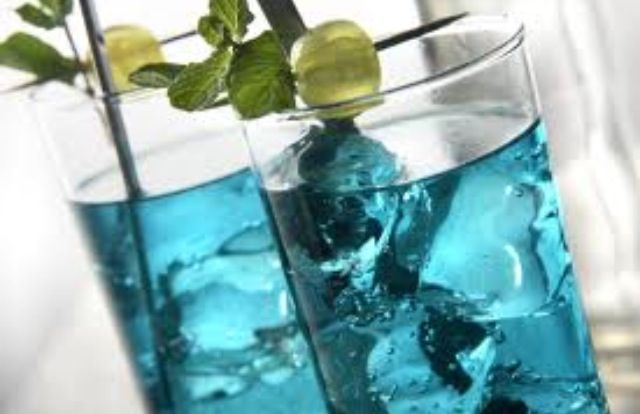 Electric Lemonade Vodka, Blue Curaçao, Sweet & Sour Mix, 7up or Sprite