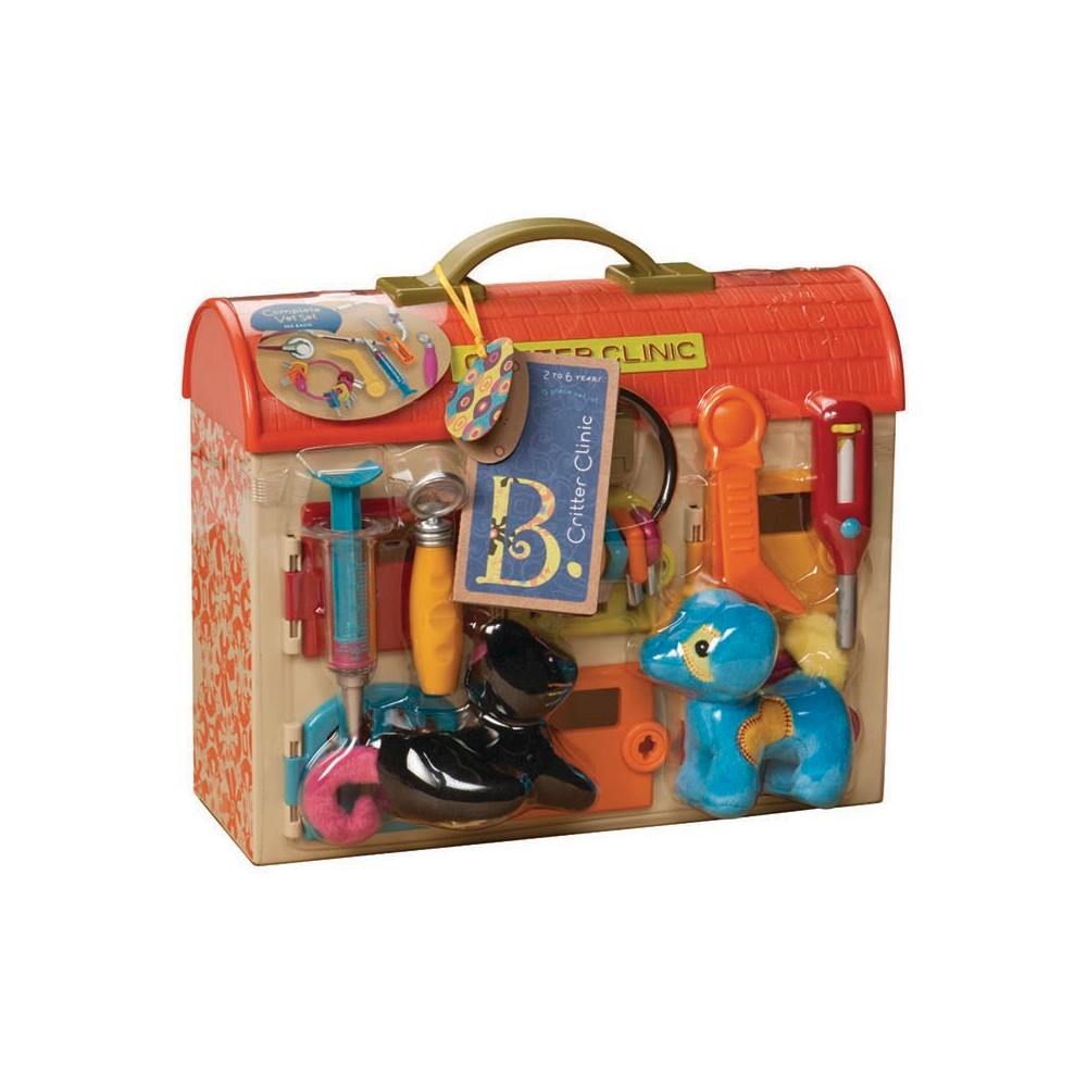 B. toys Critter Clinic, Toy Occupation Playsets