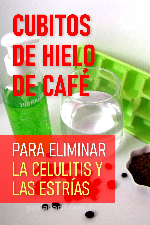 Cubitos De Hielo De Café Para Eliminar La Celulitis Y Las Estrías Hand Soap Bottle Soap Bottle Soap