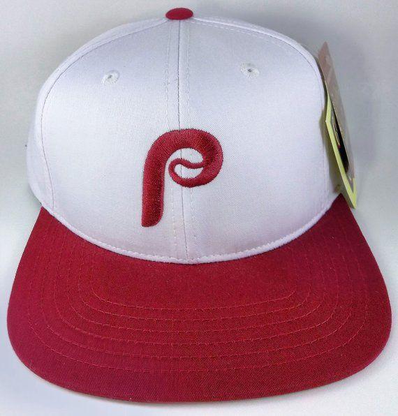057c839519cb0 Vintage American Needle Philadelphia Phillies MLB Baseball Adjustable Snapback  Hat Cap