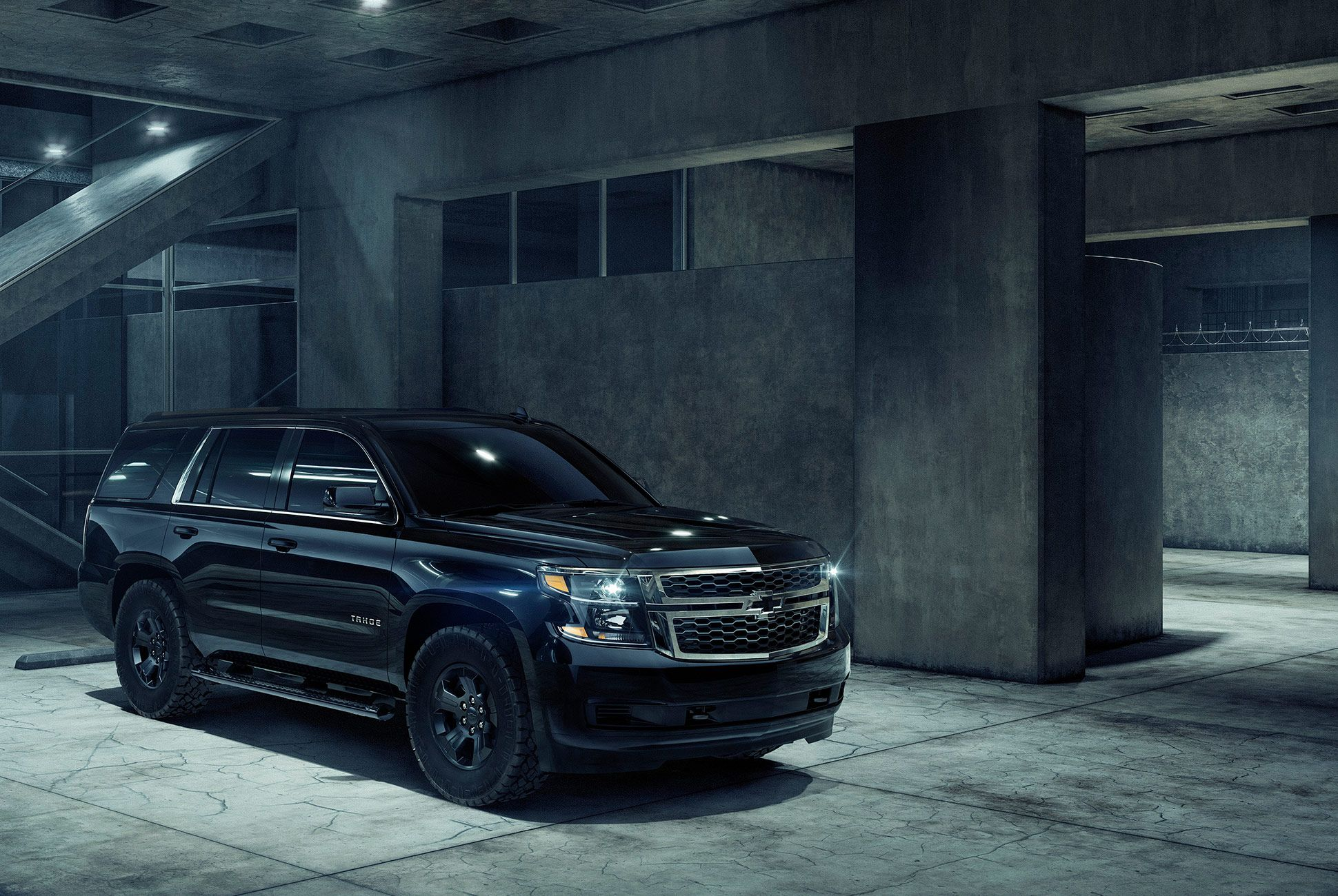 The 2018 Chevy Tahoe Custom Midnight Is A Special Edition You