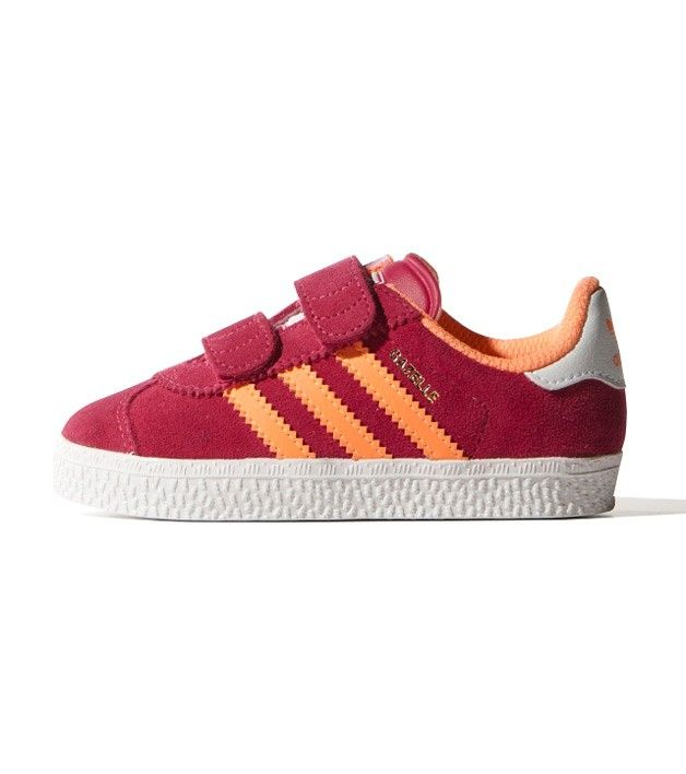 los angeles 6f34f b8aaf Adidas Gazelle CF I PinkOrange Toddler, Kids Footwear, www.oishi-m.com
