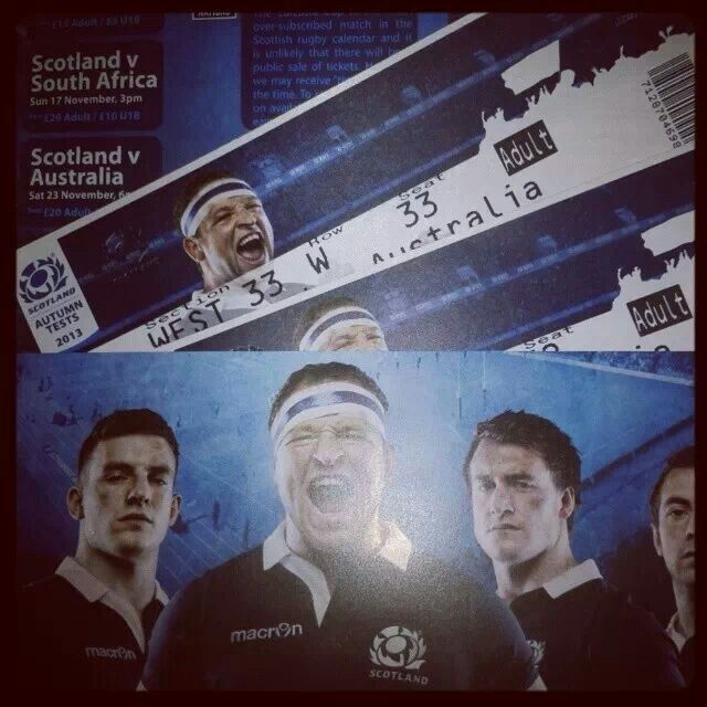 Surprise trip to the rugby!!