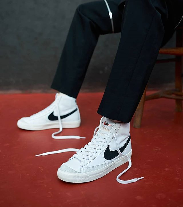 Nike Blazer Mid   Style vestimentaire homme, Mode mecs, Chaussure mode