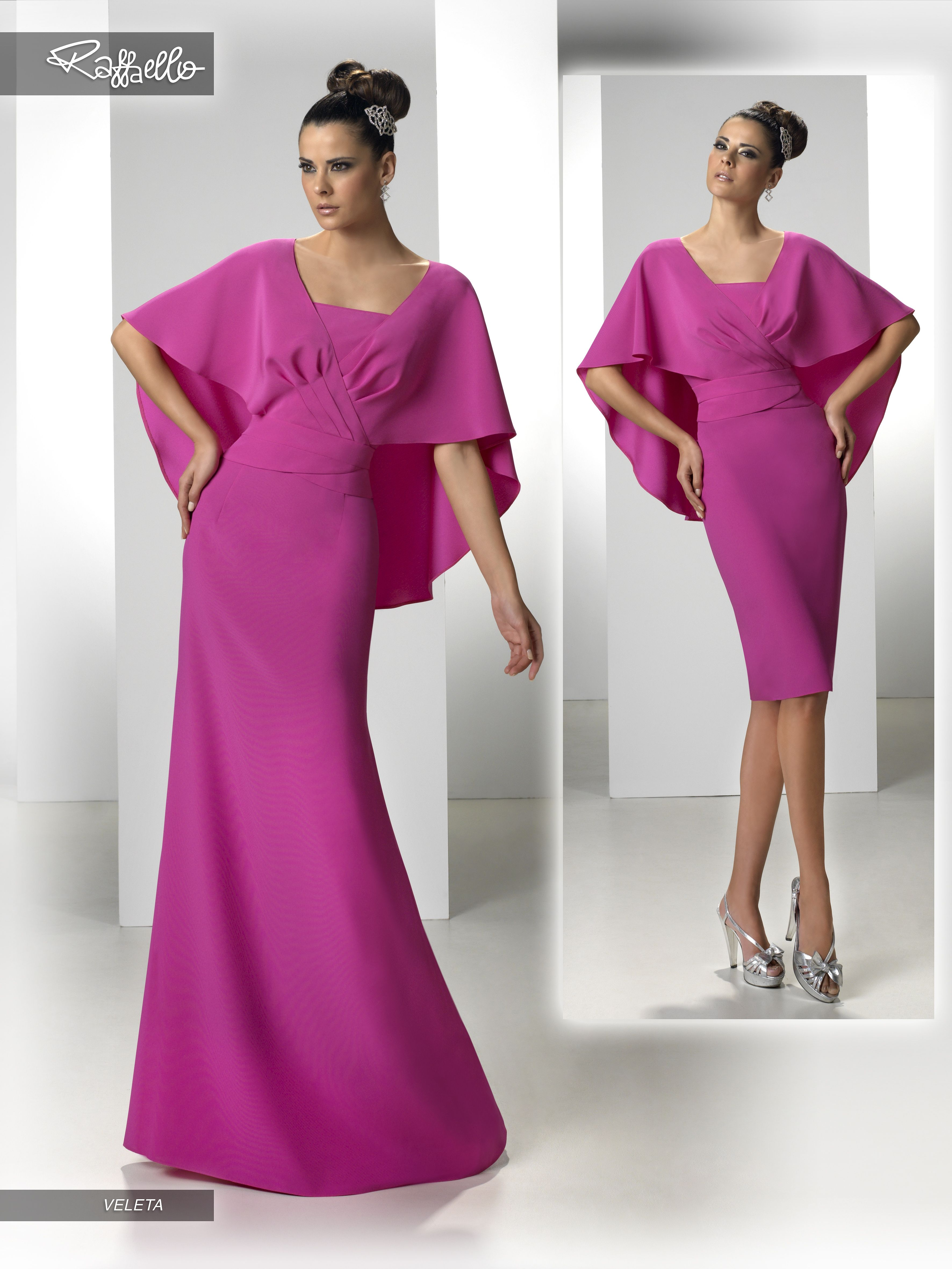 VELETA (Vestido de Fiesta). Diseñador: Raffaello. ... | Vestidos de ...
