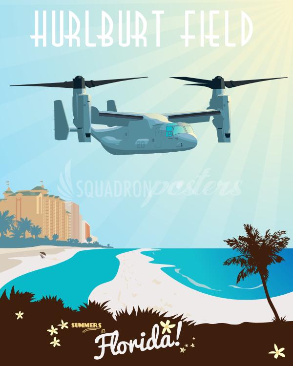 Hurlburt Field V22 Osprey Ac 130, Air force special