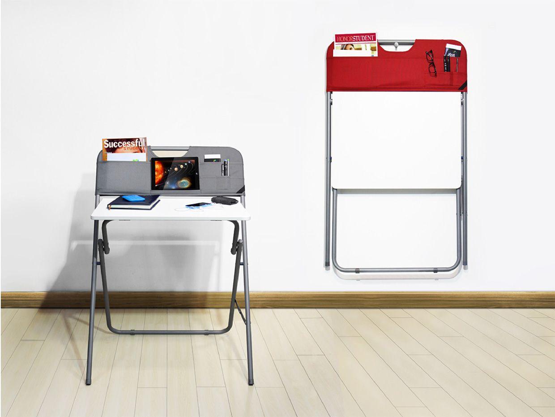 Mesa escritorio smart plegable 2 colores cocinas mesas mesa abatible y cosas de casa - Mesa abatible carrefour ...