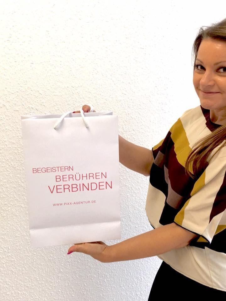 Gerade angekommen 1000 #Goody #Bags für die #Gala ☺ www.pixx-agentur.de