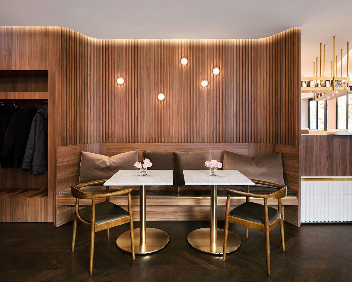 Reimann Architecture Traditionscafe In 2020 Home Decor Banquette Seating Restaurant Design