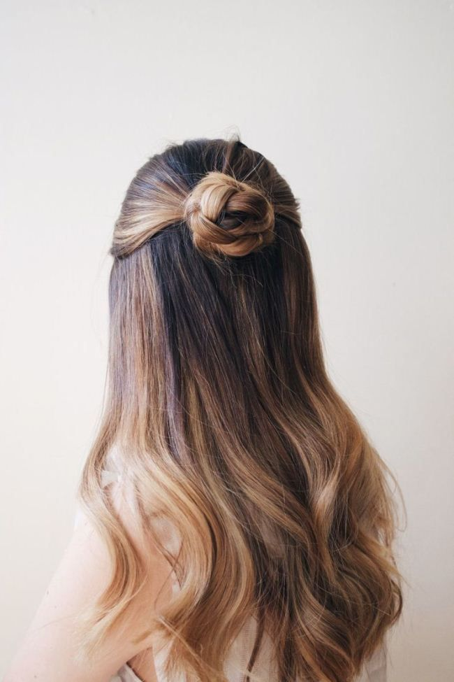 Easy Birthday Hairstyles Hairstyles For Girls Birthday Hair Styles Long Hair Styles Half Bun Hairstyles