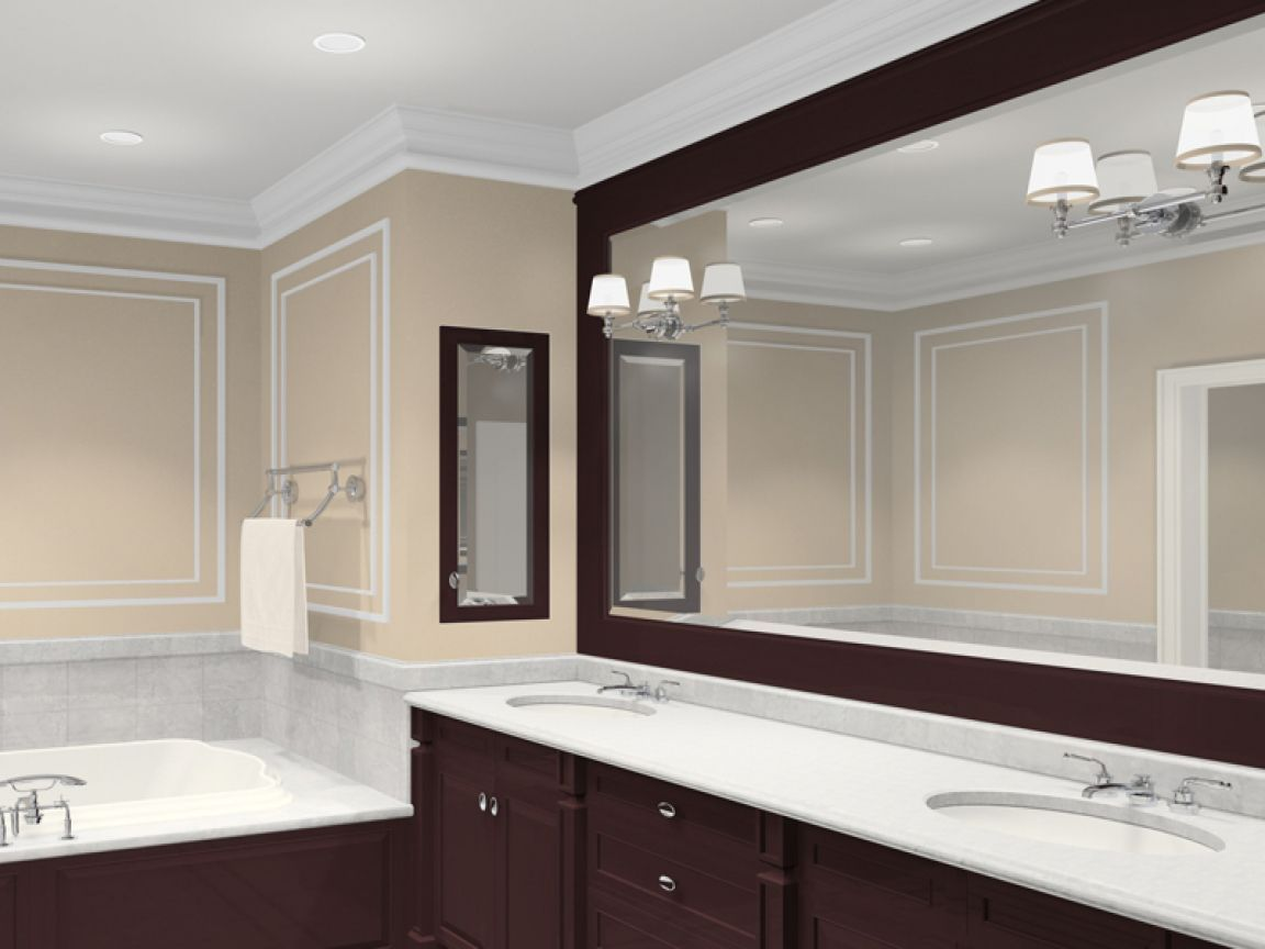 Hey Looking For Bathroom Design You Must Check Amazing Bathroom Design Design Which Lloks Farmhouse Bathroom Mirrors Large Bathroom Mirrors Large Bathrooms