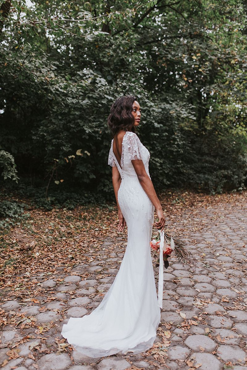 Aurelia dress boho wedding dress woodland wedding boho bride