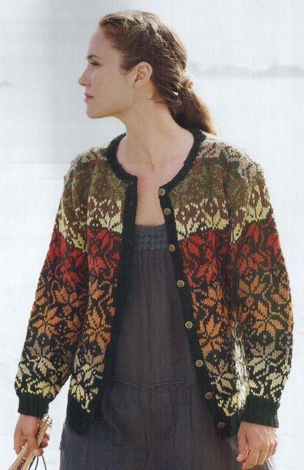 Fearless Fair Isle Knitting – Kathleen Taylor   Tichiro - knits and ...