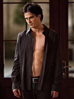 Ian Somerhalder as Christian Gray... tell me those sweatpants would not sit perfectly...