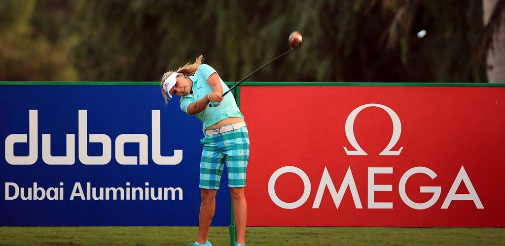 Lexi Thompson Dubai Masters 2012