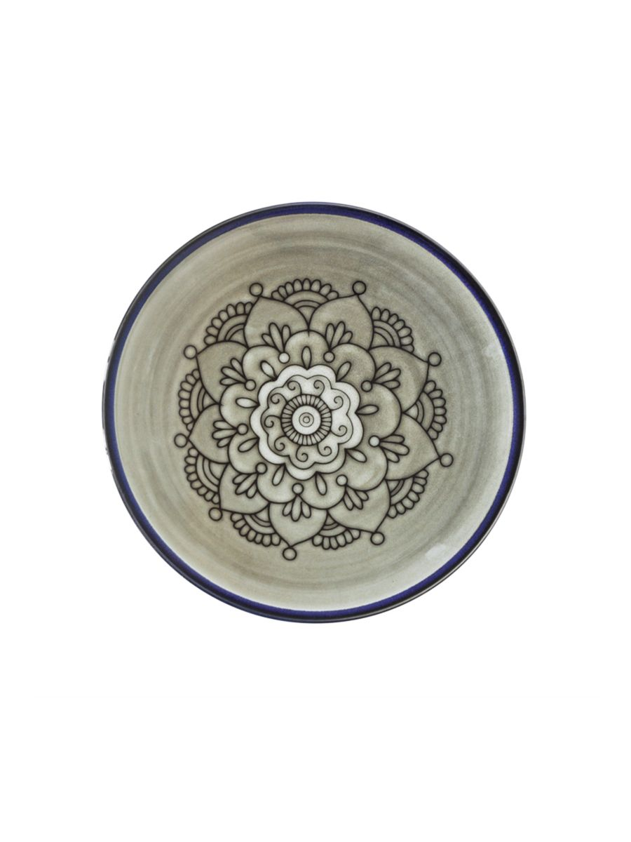 Tell Me More Florens Dinner Plate Patterned dinner plate in stoneware with blue rim.  sc 1 st  Pinterest & Tell Me More Florens Dinner Plate: Patterned dinner plate in ...