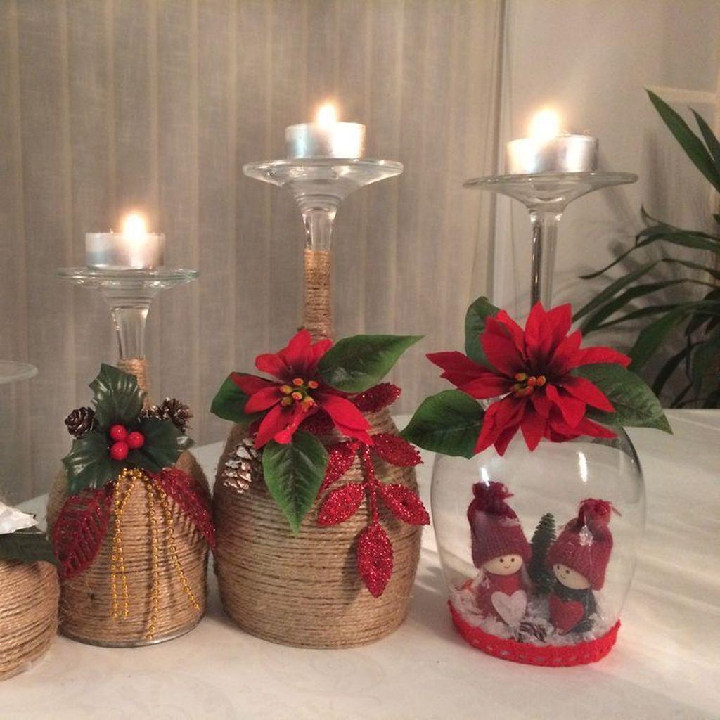 55 Cheap Diy Christmas Decorations Ideas Christmas Candle