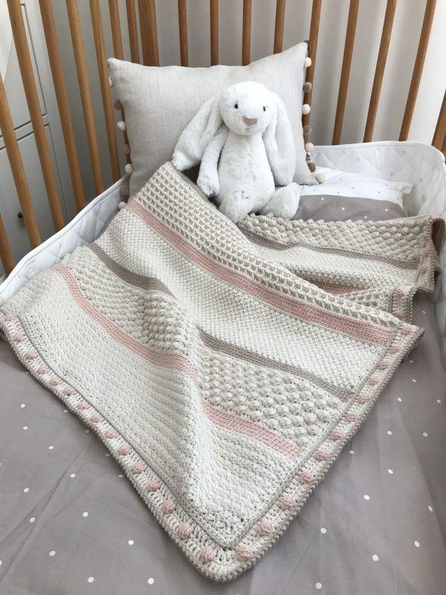 Spring Sampler Shawl Week 4: Baby Blanket | Manta, Mantita bebe y ...