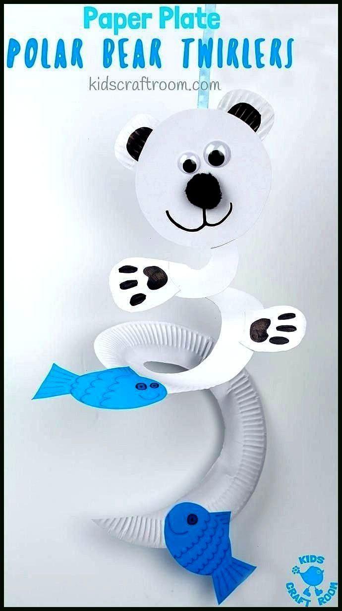 polar bear twirler Paper plate polar bear twirler,Paper plate polar bear twirler, Hidden Color Rev