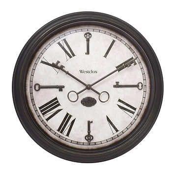 Westclox 15 Indoor Outdoor Wall Clock Outdoor Wall Clocks Wall Clock Glass Wall Clock