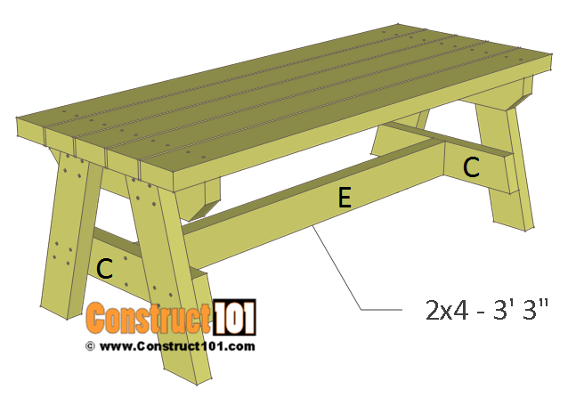 Sensational Simple 2X4 Garden Bench Plans Free Pdf Download Kerti Lamtechconsult Wood Chair Design Ideas Lamtechconsultcom