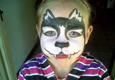 Pingl par luvani sur deguisement loup pinterest loups maquillage et d guisements - Maquillage loup facile ...