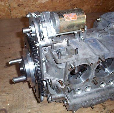 Hummel Engine Front Starter Mount | VW Aircraft | Ultralight plane