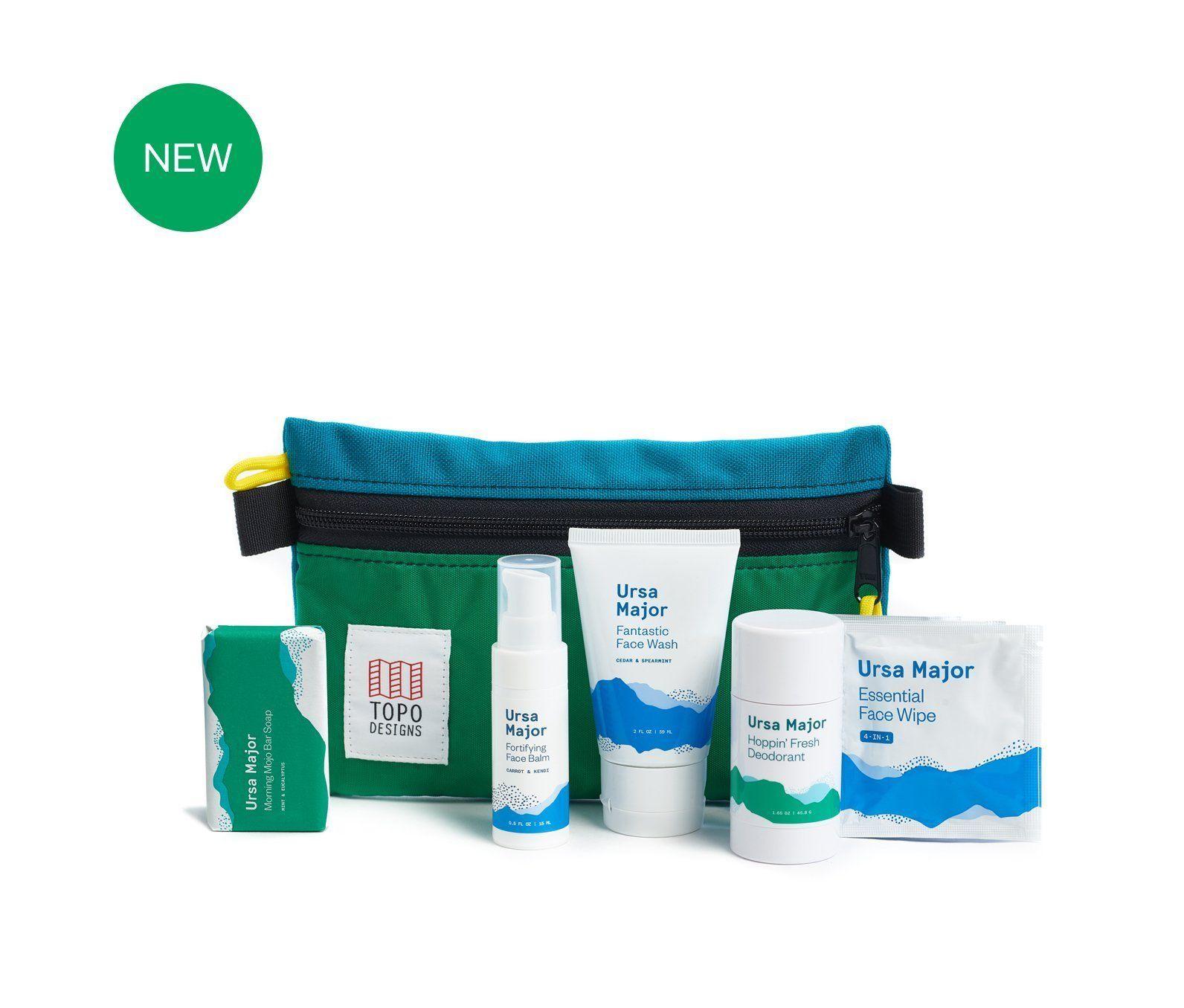 Ursa Major X Topo Designs Travel Kit Topo Designs Travel Kits Travel Size Products