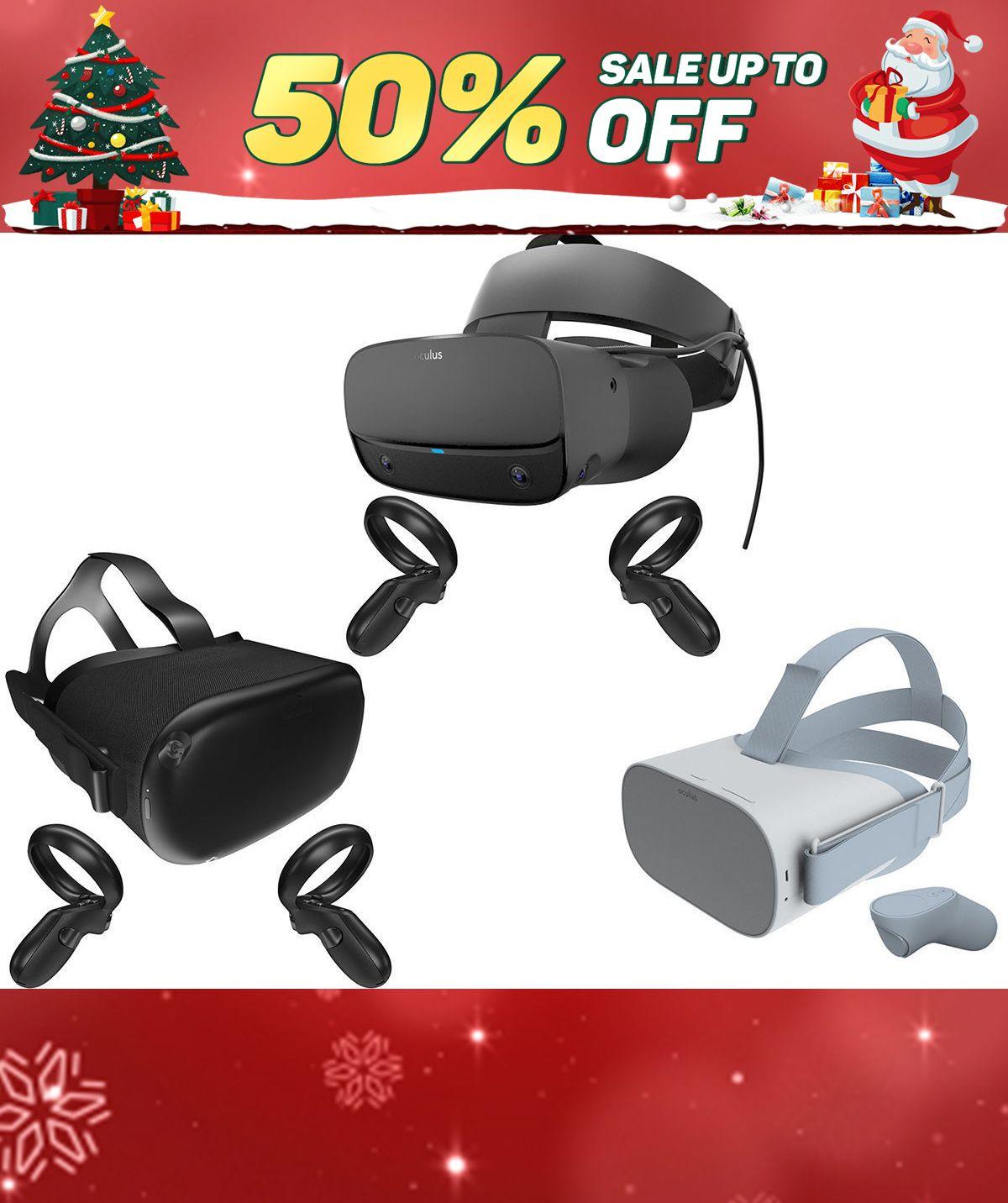 Oculus VR Headset 2019 Collection 3D model Oculus vr