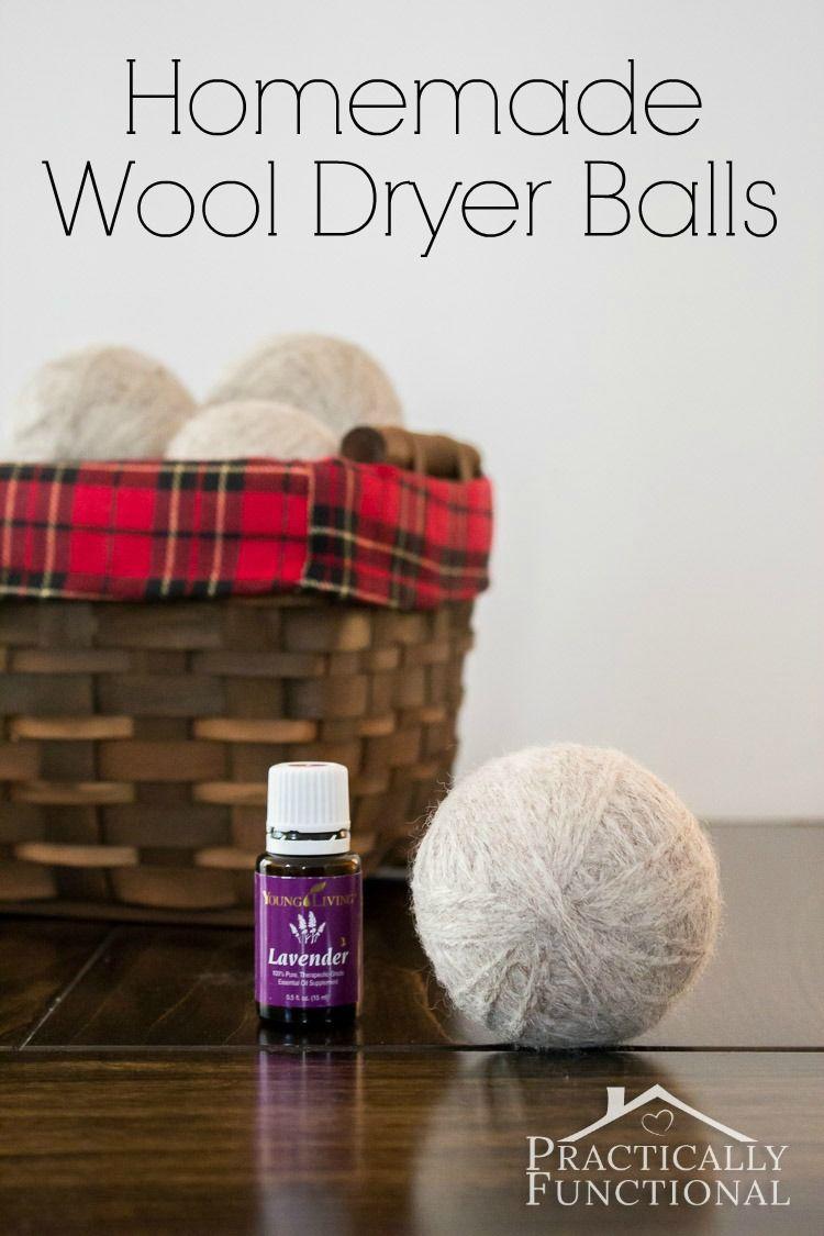 How To Make Homemade Felted Wool Dryer Balls Wool Dryer Balls