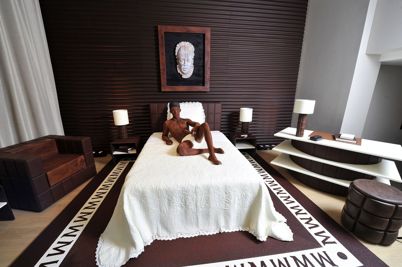 The Magnum Chocolate Hotel Suite Designed by the iconic Karl