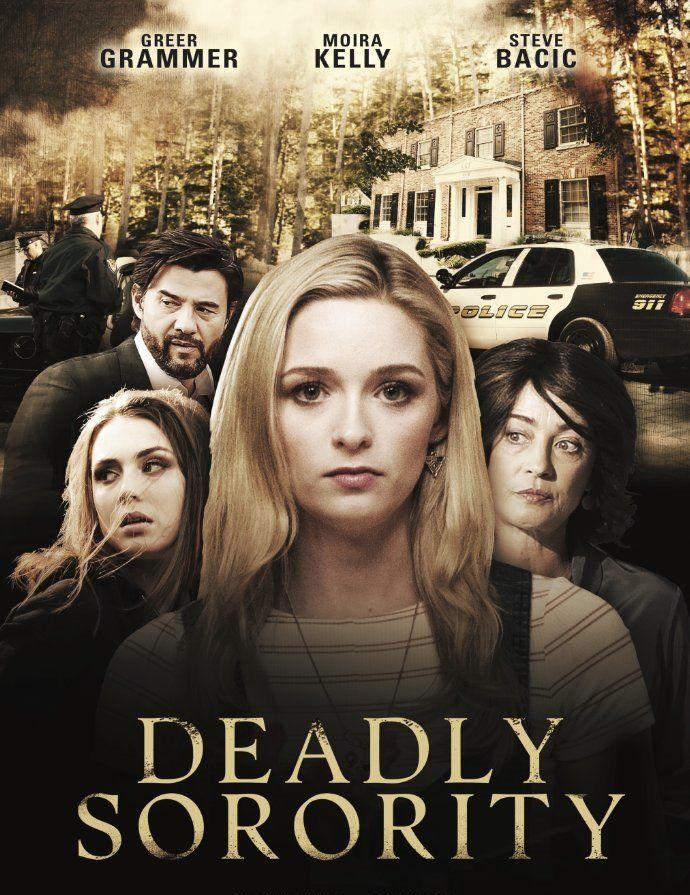 Deadly Sorority 2017 Dvd Tv Movie Lifetime Thriller Greer Grammer Lmn Lifetime Movies Sorority Movies Lifetime Movies Network