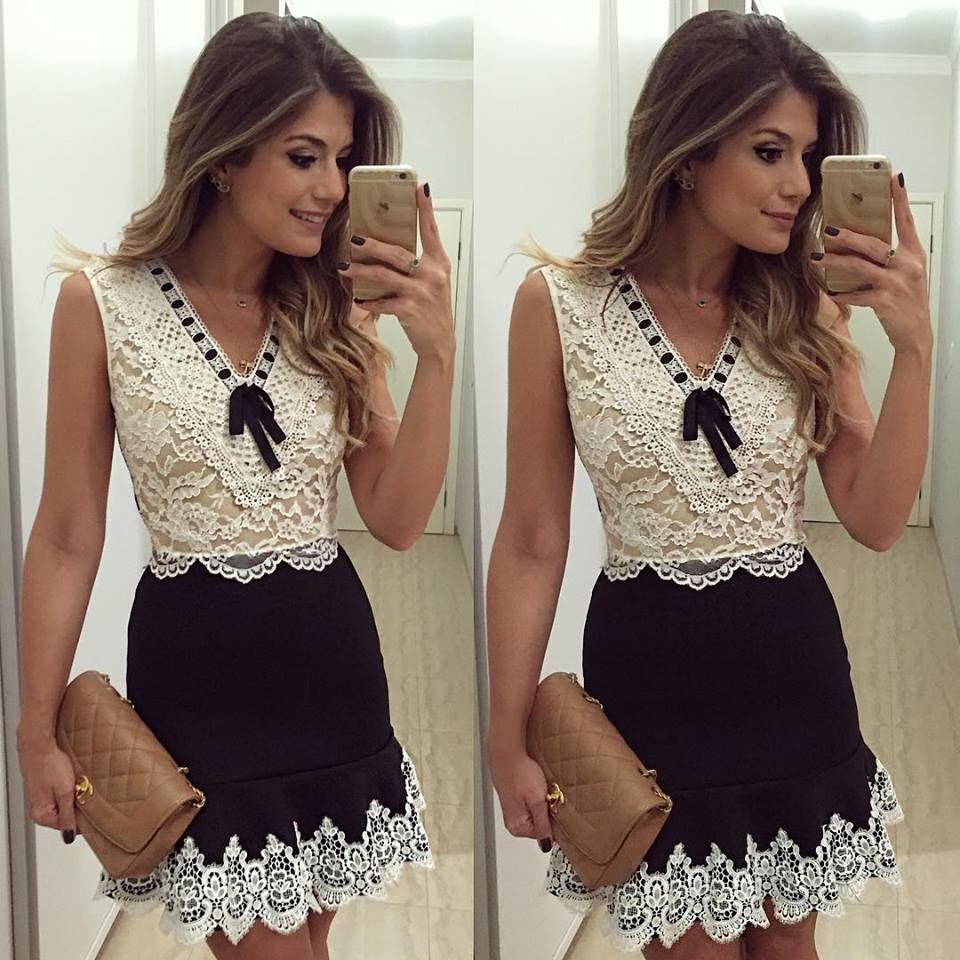 Lace dress looks  ng