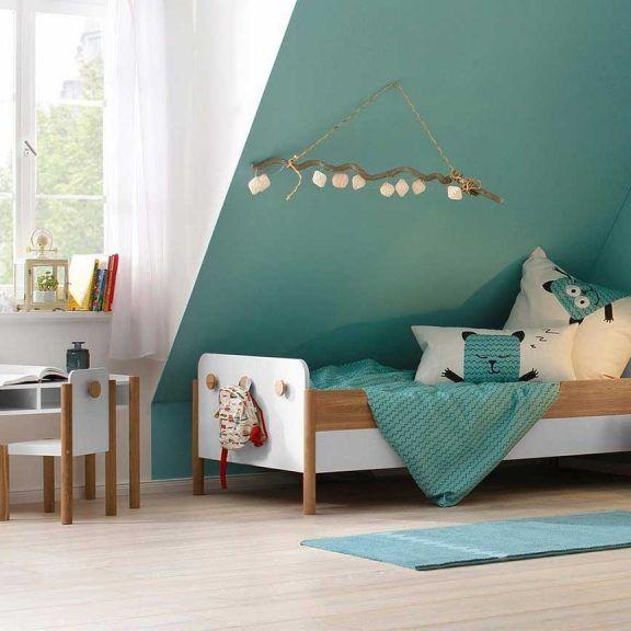 Kinderzimmer mit Dachschräge Einrichtungsideen