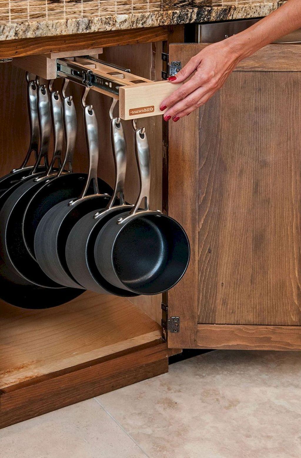 30+ Simple And Easy Kitchen Storage Organization Ideas #kitchenfurniture