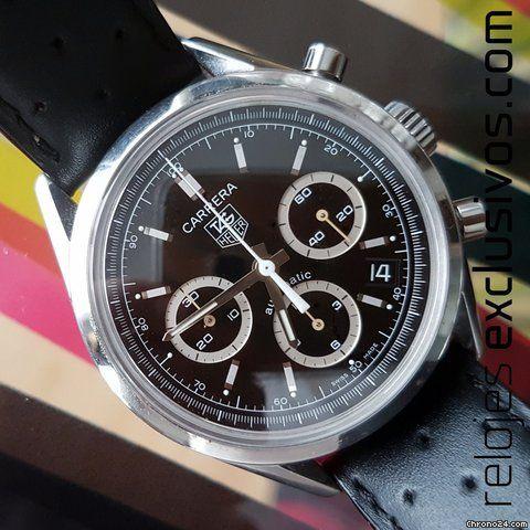 TAG Heuer Carrera Calibre 17 ad: $1,966 TAG Heuer Carrera Chronograph Ref. No…