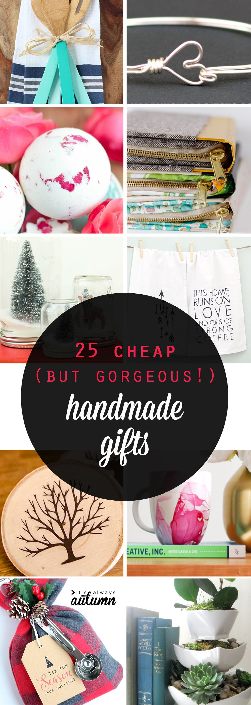 25 cheap {but gorgeous!} DIY gift ideas | Handmade Gifts | Pinterest ...