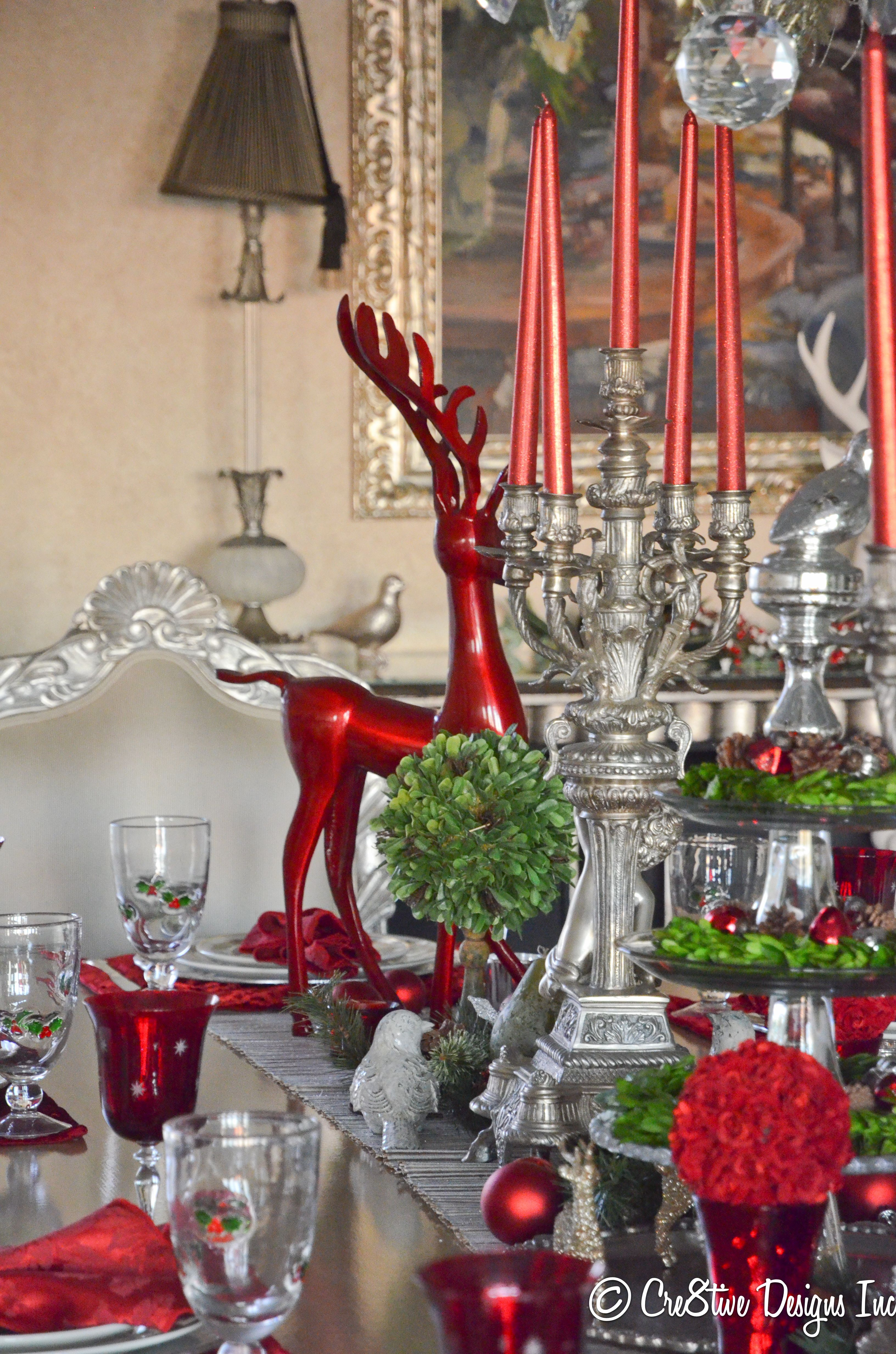 Alegre mesa mesas de navidad y pinterest