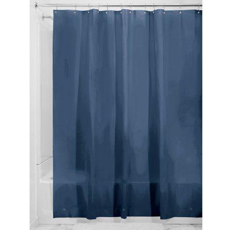 Interdesign Peva 3 Gauge Shower Curtain Liner Long 72 Inch X 84