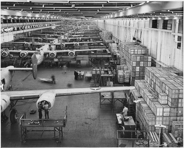 Willow Run Bomber Plant Ypsilanti Twp, MI. Courtesy of