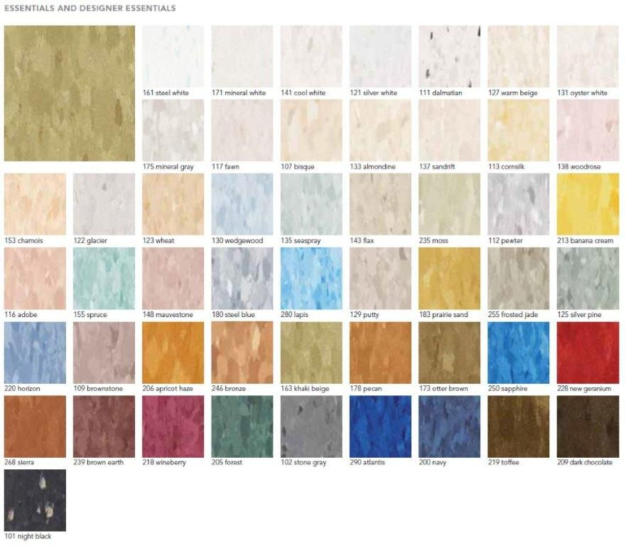 Vct Tile Colors Also We Have Below Colors Of Mannington Vinyl