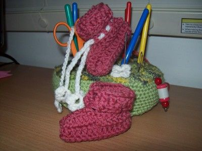 free crochet pattern by Cats-Rockin-Crochet | zapatitos bebe ...