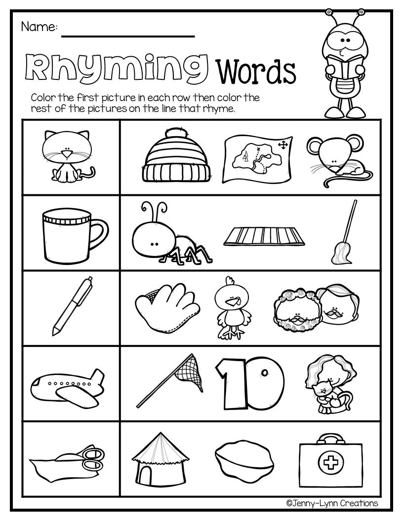 April Pre K Math Literacy April Math Phonics Worksheets Free Math Literacy [ 1056 x 816 Pixel ]
