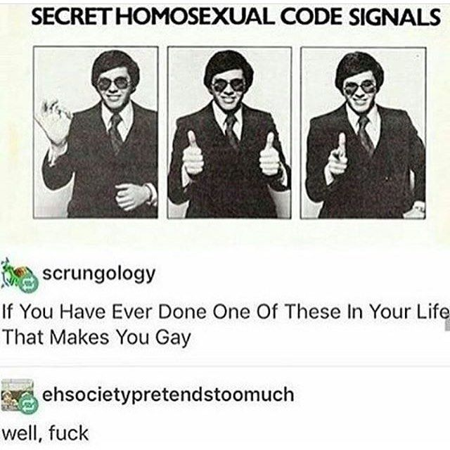 Gay men signals