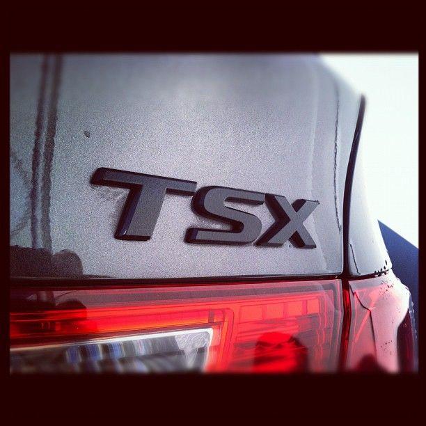 Black Emblems #Acura #TSX #MikeHaleAcura #Utah