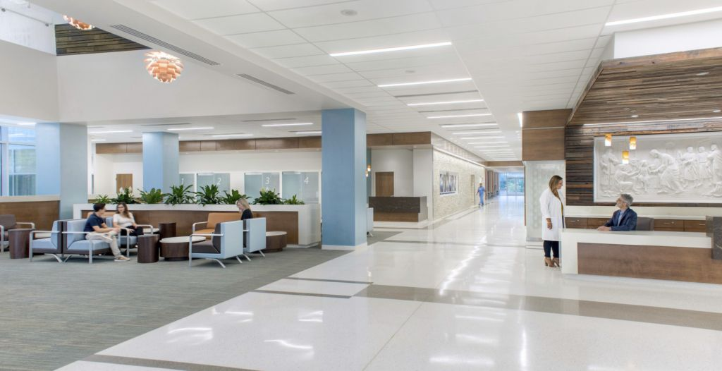 Washington Adventist White Oak Medical Center Healthcare Snapshots Hospital Interior Design Hospital Design Hospital Interior