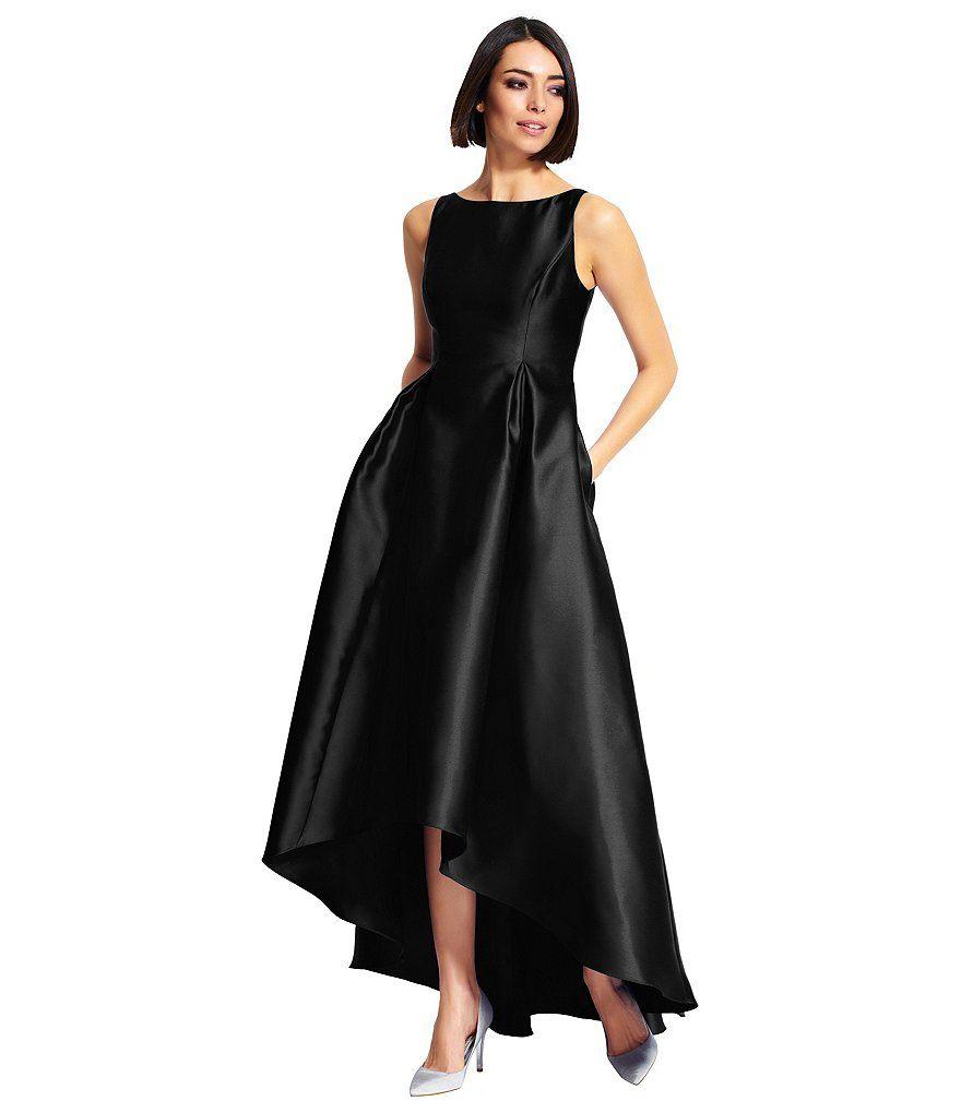 Adrianna papell hilow sleeveless taffeta gown adrianna papell
